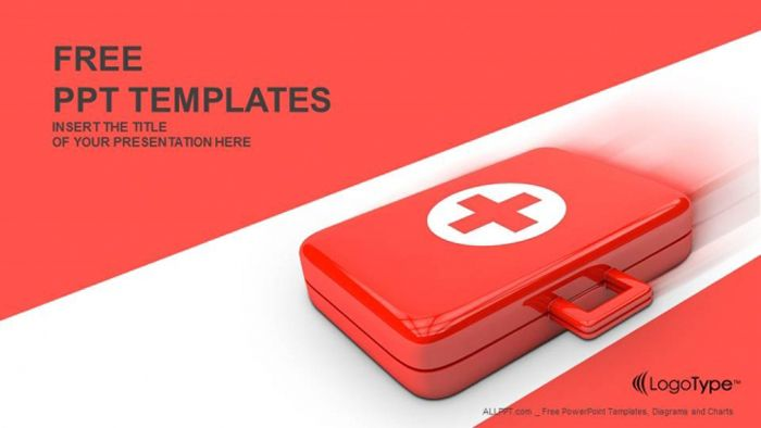 First aid kit powerpoint templates templates pinterest first aid kit powerpoint templates toneelgroepblik Images