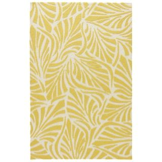 Shop for Coastal Novelty Pattern Yellow/ White Polypropylene Area Rug (7'6 x 9'6). Ships To Canada at Overstock.ca - Your Online Home Decor Outlet Store!