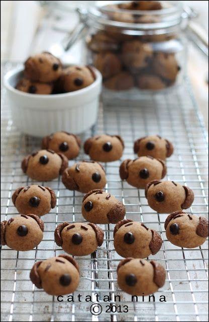 Catatan Nina Milo Doggie Cookies Kue Kering Mentega Makanan Resep Biskuit