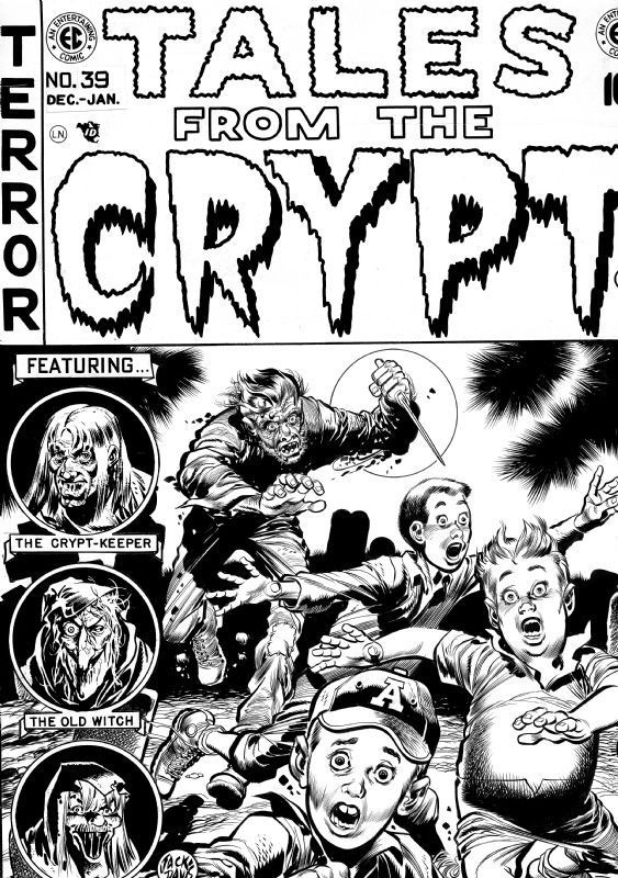 Tales From the Crypt #39 Comic Art
