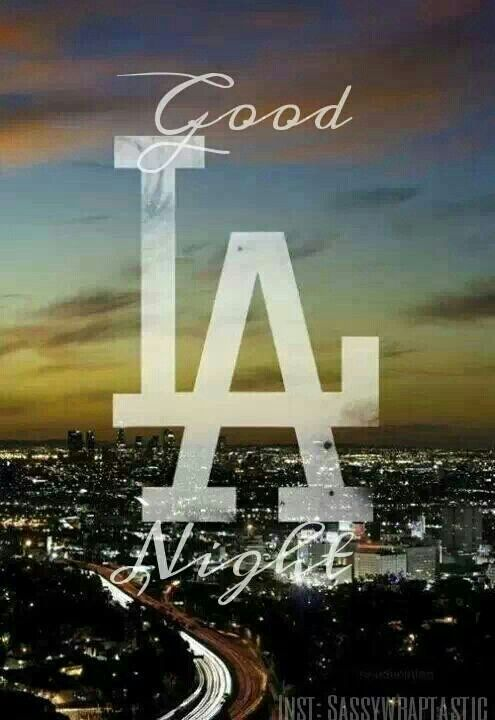 Good Night La City Of Angels California Love California
