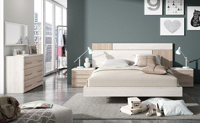 Dormitorio matrimonio con cómoda y espejo. | camas | Pinterest ...