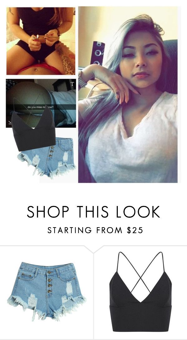 """""""I'm lonely xc///Reese"""" by declan-disaster ❤ liked on Polyvore featuring WithChic, women's clothing, women, female, woman, misses and juniors"""