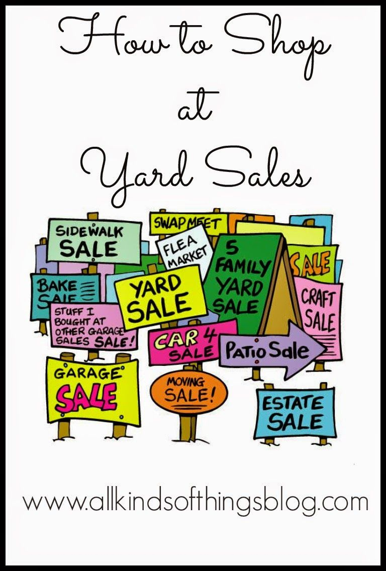 yard saling 101 how to shop at yard sales http www