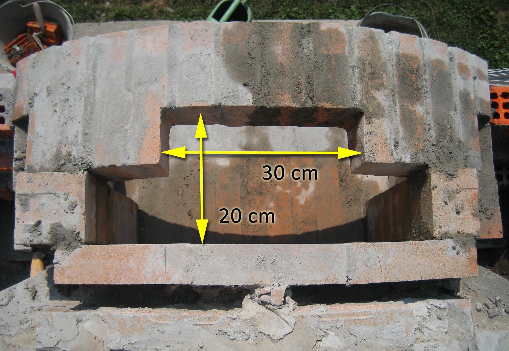 forno in mattoni refrattari a base rettangolare ForMattoni Refrattari Per Forno A Legna