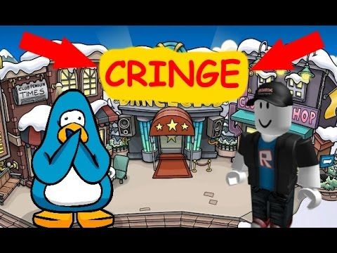 Roblox And Club Penguin - Roblox And Club Penguin Cringe Club Penguin Cringe