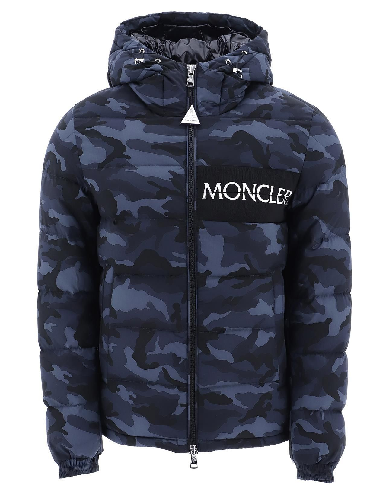 MONCLER MONCLER AITON CAMOUFLAGE PRINT DOWN JACKET.