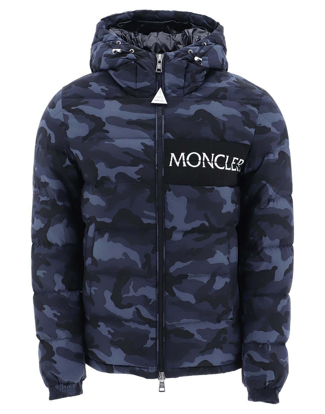 3e88a5fd4101 MONCLER MONCLER AITON CAMOUFLAGE PRINT DOWN JACKET.  moncler  cloth ...