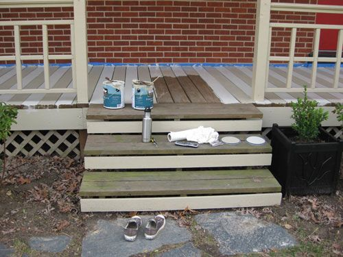 Best How To Paint A Wood Deck Or Front Porch We Did Subtle 400 x 300