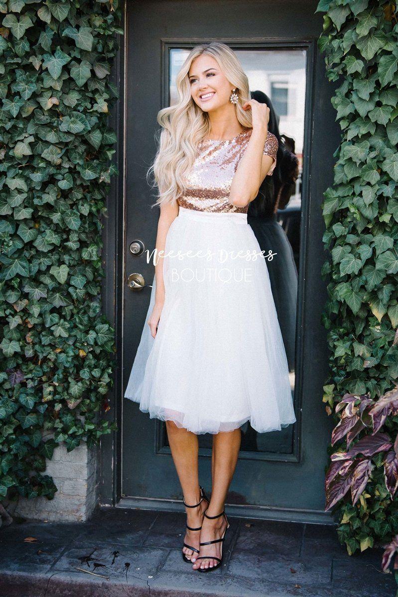 fbb48a994 Prima Ballerina Tulle Dress | Modest formal dresses | Modest dresses ...