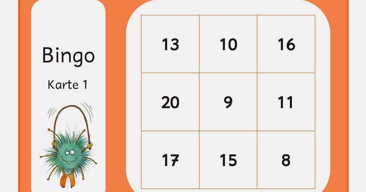 bingo rechnen bis 20 grundschule freiarbeit addieren
