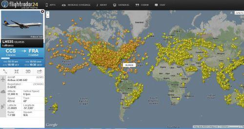Flightradar24 El Rastreador De Vuelos Es Hora De Volar En Tiempo Real Volar Vuelos Hora