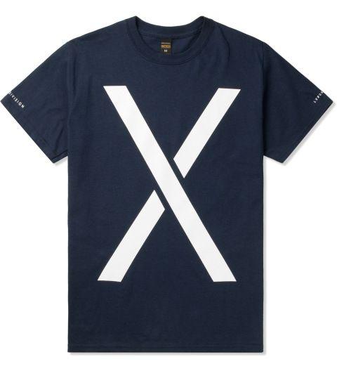 10.Deep Navy Larger Living T-Shirt Picutre