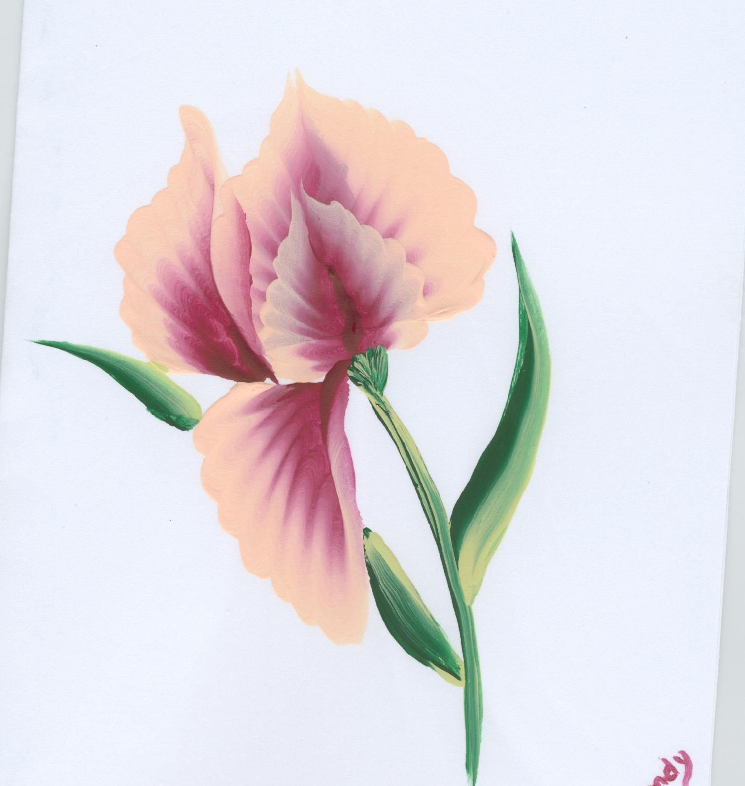 One stroke painting greeting cards decorative painting ideas one stroke painting greeting cards kristyandbryce Gallery