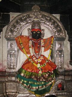 Yamai devi or Shree Yamai devi temple is situated in a hill complex in the town of Aundh, Satara district, Maharashtra.