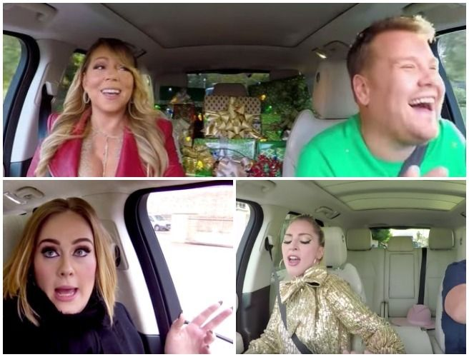Watch This Year S Christmas Carpool Karaoke All I Want For Christmas Is You Has To Be One Of The Be Carpool Karaoke Coldplay Chris Christmas Carpool Karaoke
