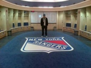 Roger Federer in New York Rangers Locker Room | Sports | Pinterest ...