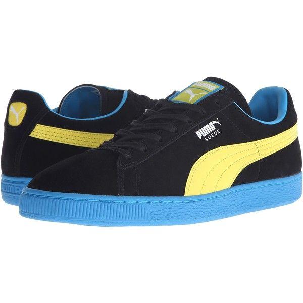 Puma suede, Mens blue suede shoes