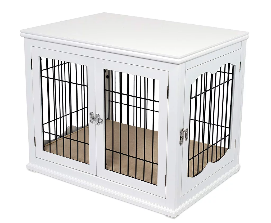 14 Dog Crates That Double As Furniture Oh You Read That Right Dog Crate Furniture Indoor Dog House Furniture Style Dog Crate