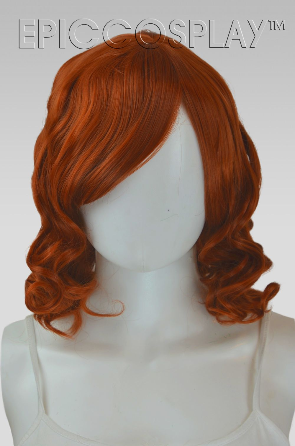 Diana Copper Red Short Curly WigOur Diana wig is the perfect style for anyone seeking bountiful volume and bounce. This Copper Red short curly wig comes pre-sty