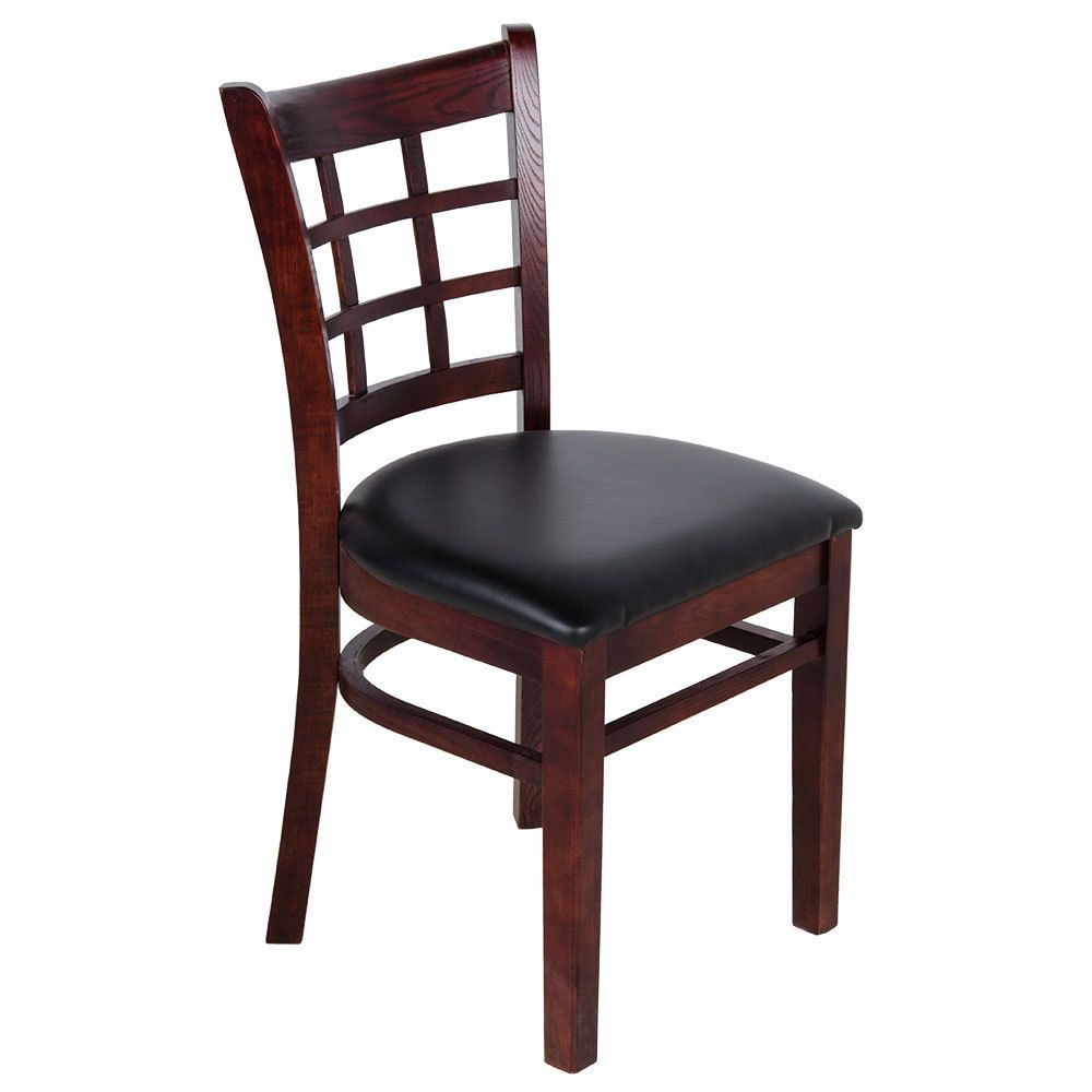 Astonishing Lancaster Table Seating Mahogany Wooden Window Back Chair Caraccident5 Cool Chair Designs And Ideas Caraccident5Info