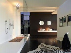 Houten vlonder in douche huisinspiratie pinterest