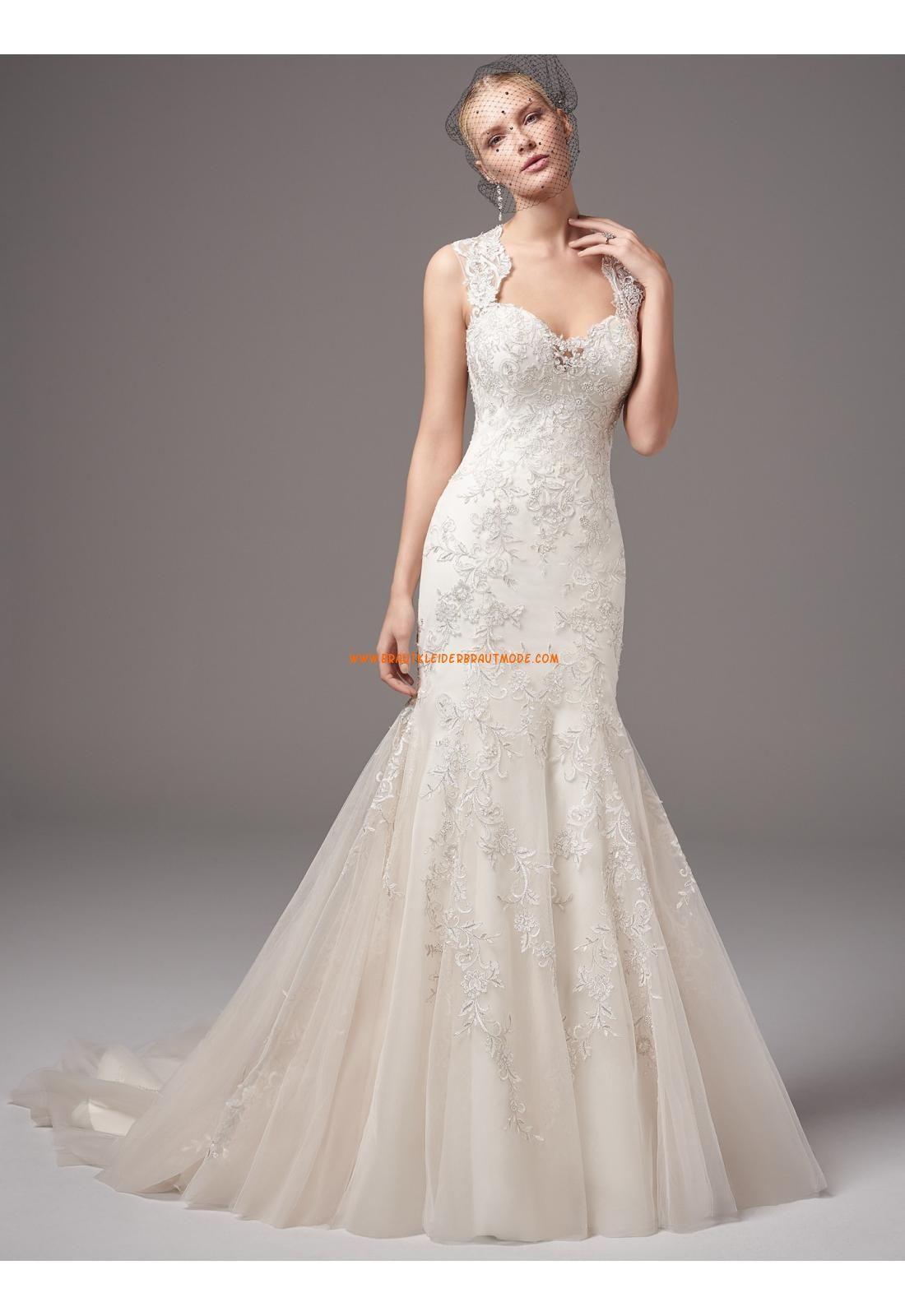 Meerjungfrau Außergewöhnliche Extravagante Brautkleider aus Tüll mit ...