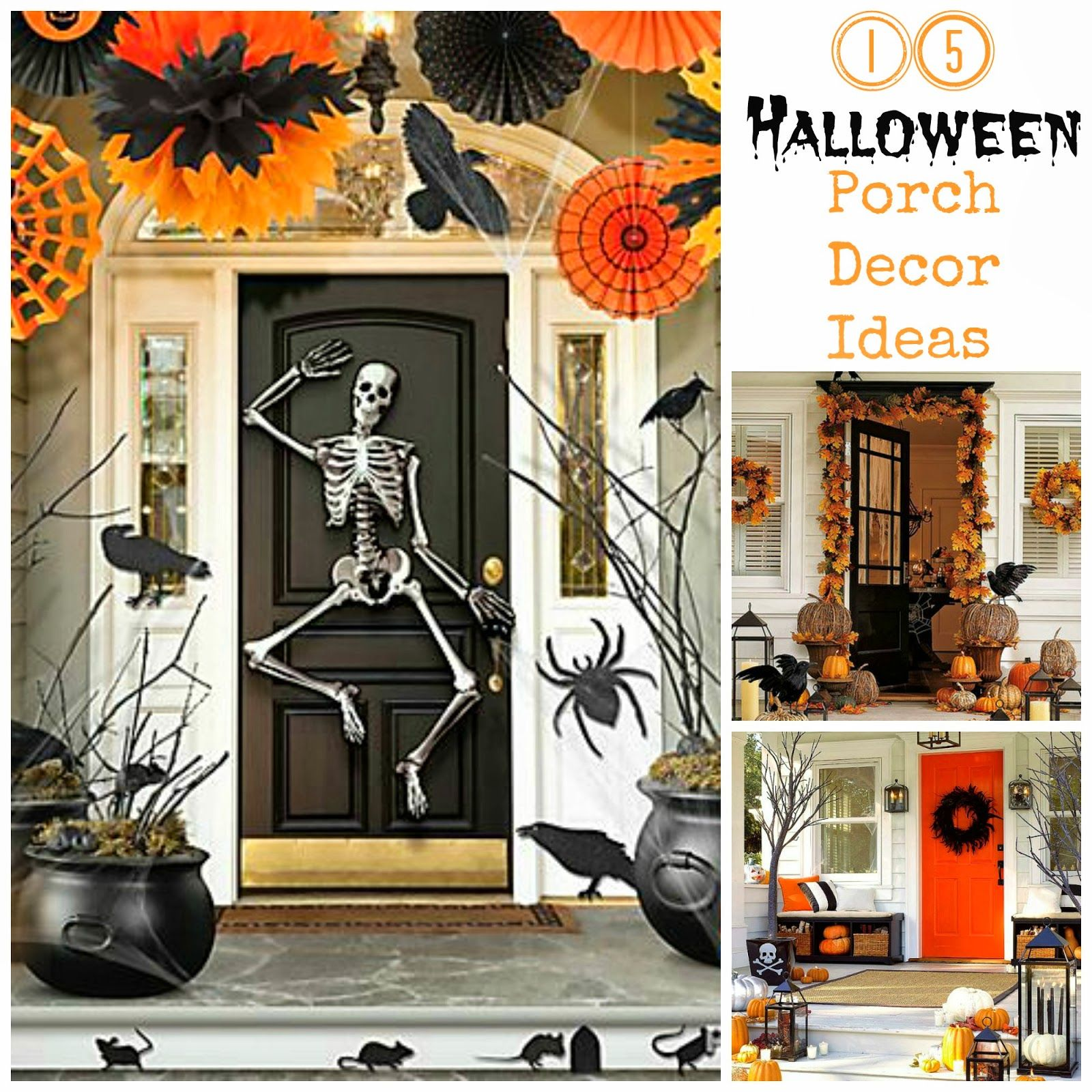 cool porch ideas for halloween and autumn description from pinterestcom i