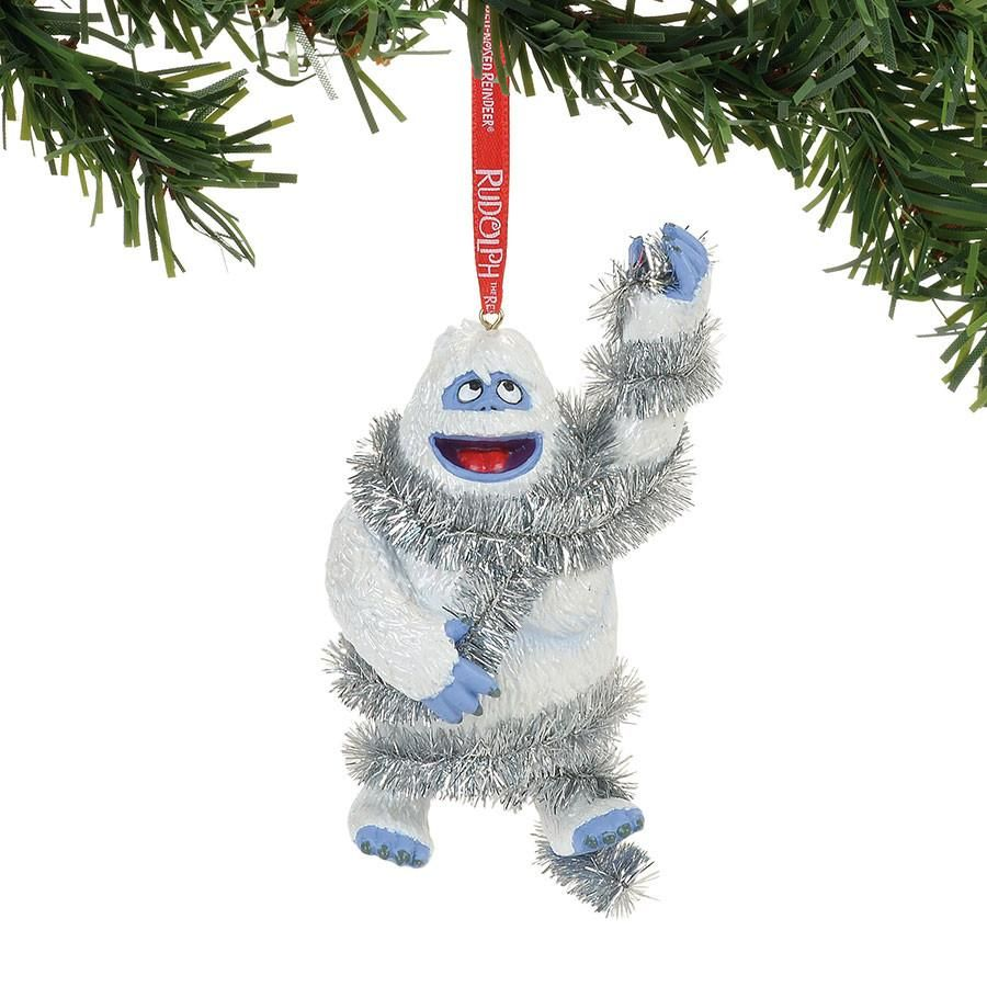 Bumble In Tinsel Ornament Snowman Christmas Ornaments Kids Christmas Ornaments Bumble The Abominable Snowman