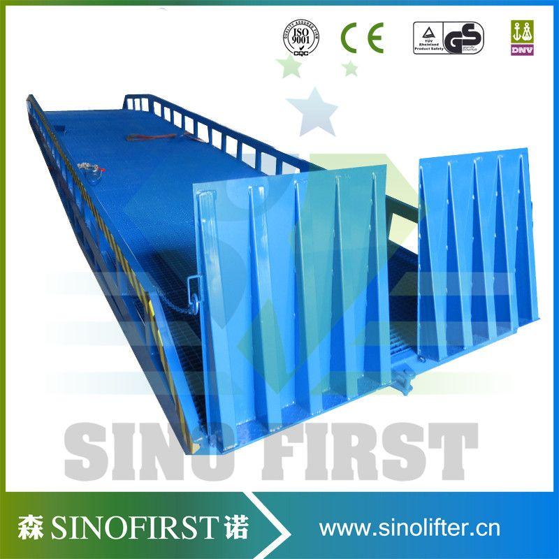 Sinofirst New model manual handel hydraulic loading ramp dock ramps ...