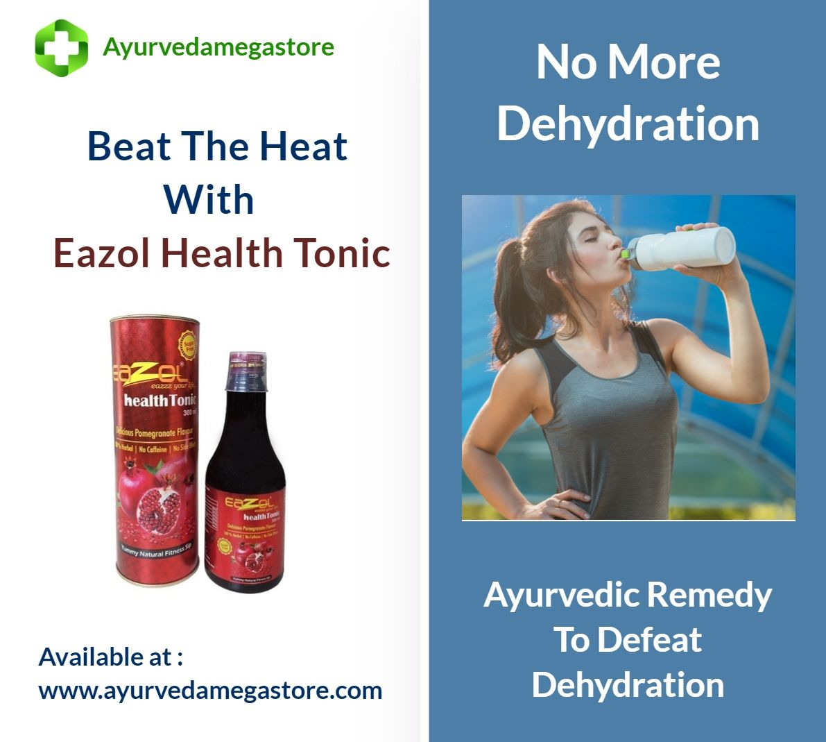 No More Dehydration In Summer Purchase Eazol Health Tonic