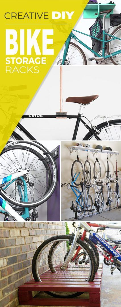 creative diy bike storage racks rangement vélo garage on cool diy garage organization ideas 7 measure guide on garage organization id=17953