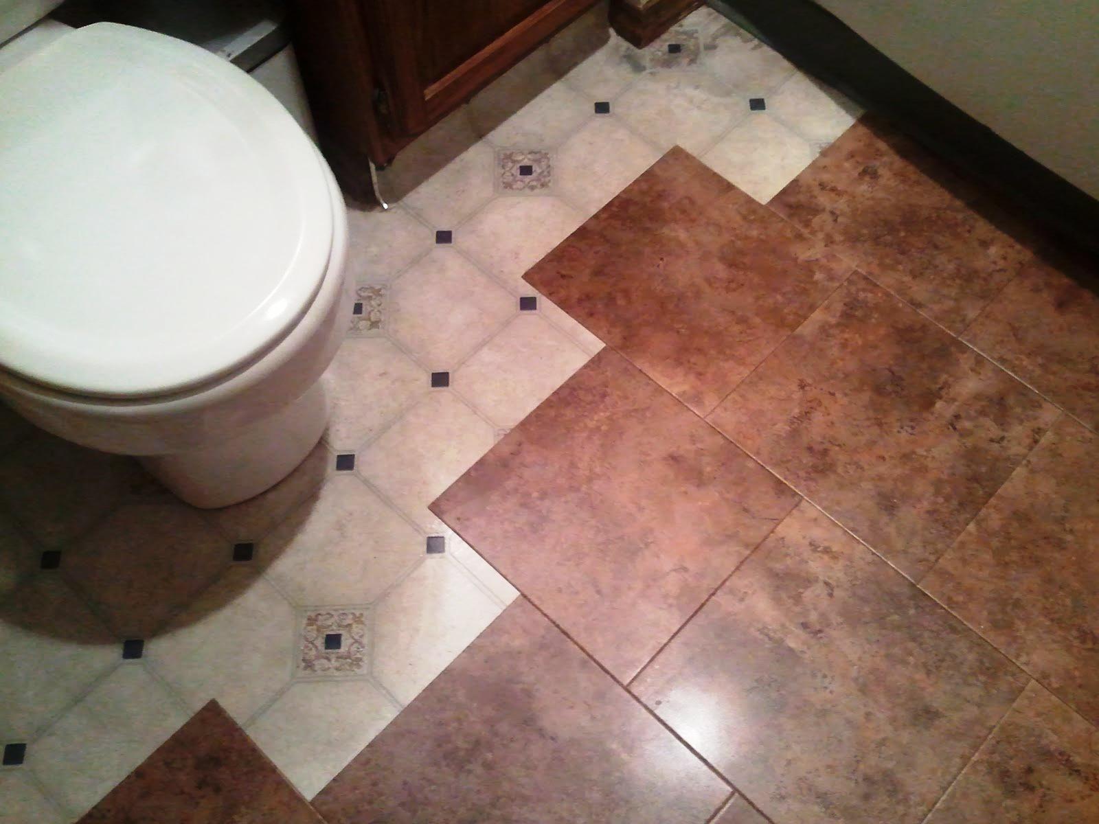 Peel Stick Floor Tile Bathroom Bathroom Exclusiv Pinterest