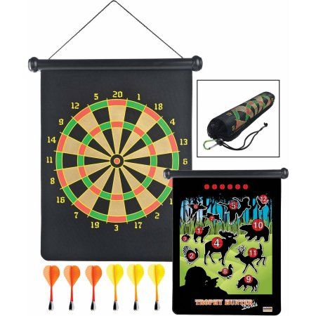 Gsi Outdoors 99951 Trophy Hunter Roll Up Magnetic Darts Safe