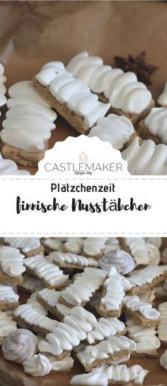 Finnische Nussstäbchen - Backen im Advent / Weihnachtsbäckerei « CASTLEMAKER Lifestyle Blog