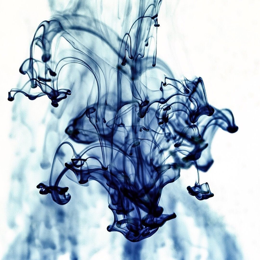 Ink in water by photographer Karyn Easton Ink in water