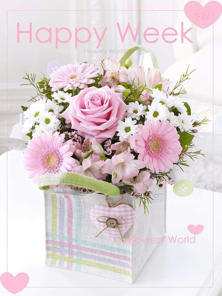 Happy week | *Happy Week* Flowery World* | Pinterest ... | 720 x 960 jpeg 95kB