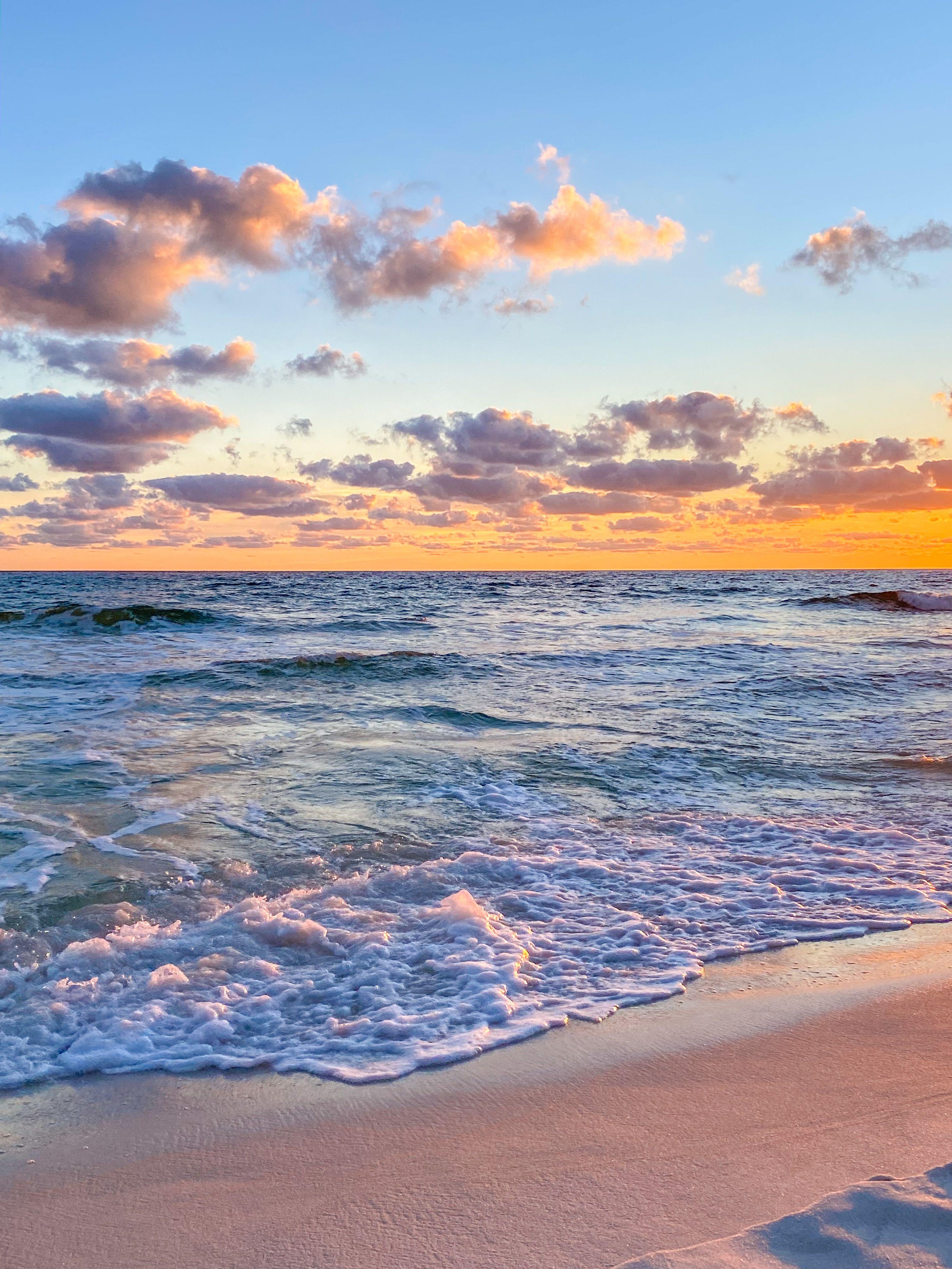 Sunset Okaloosa Island Fl In 2020 Okaloosa Island Instagram Sunset