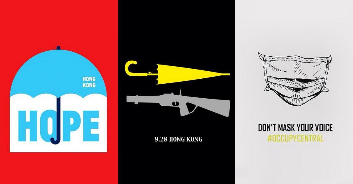 The Powerful Protest Art Behind Hong Kongs Umbrella Revolution