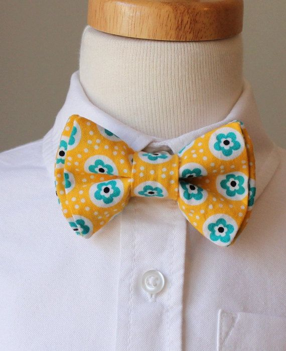 Boys Bowtie - Easter Yellow