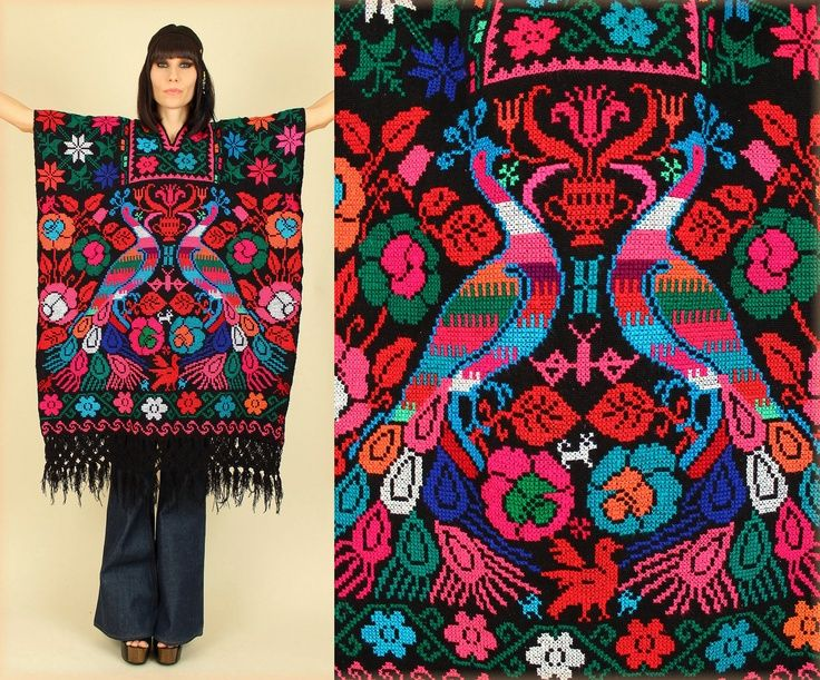 ... embroidered mexican dress