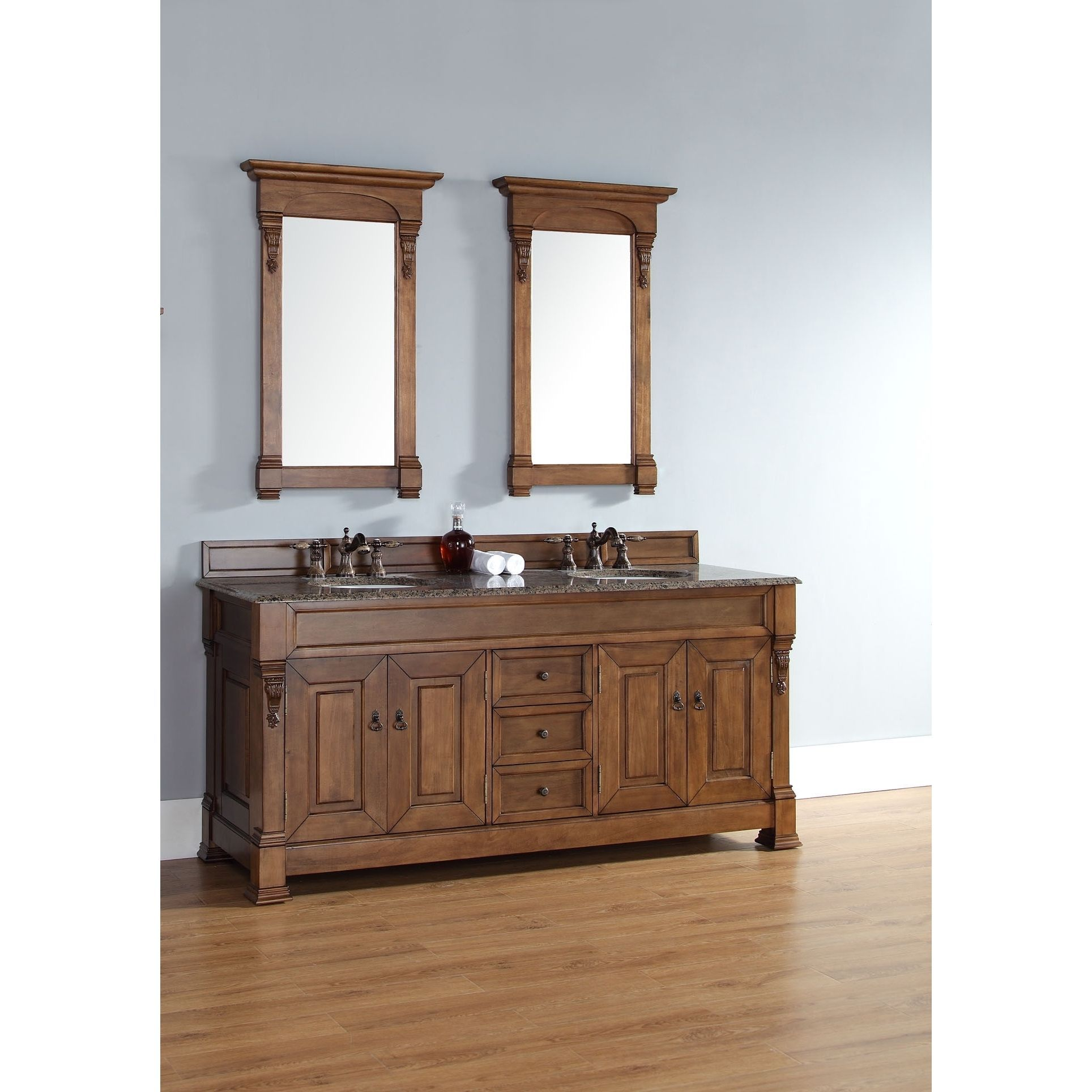 Improve The Look Of Your Bathroom With The 72 Inch Brookfield