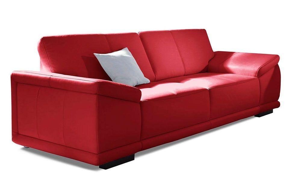 sit\more 3-Sitzer rot, FSC®-zertifiziert Jetzt bestellen unter - wohnzimmer sofa rot
