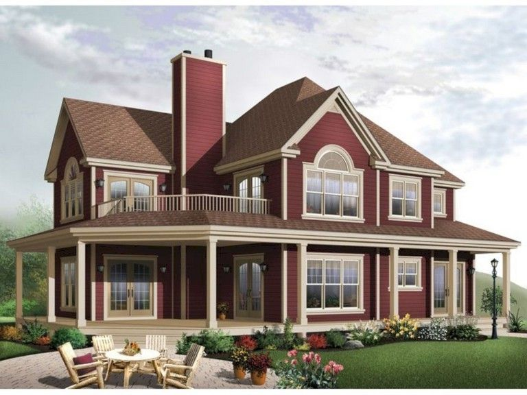 House Plan 7922 00232 Country Plan 2 556 Square Feet 4 Bedrooms 3 Bathrooms Farmhouse Style House Country House Plans Farmhouse Floor Plans