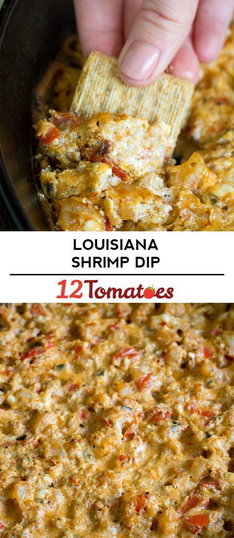 Louisiana Shrimp Dip - This creamy dip with a kick is a fast favorite for everyone who tries it. Louisiana hot sauce + shrimp + some creamy goodness = one irresistible appetizer.