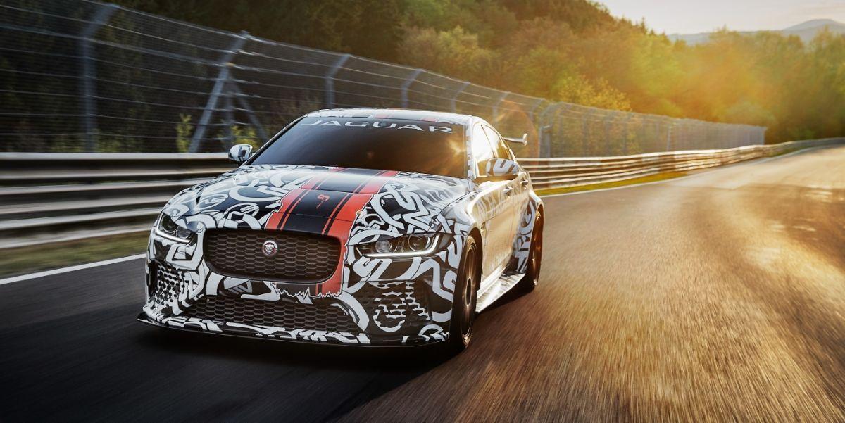 Jaguar S Most Powerful Production Car Ever Is An Xe With 590 Horsepower In 2020 Jaguar Xe Jaguar Super Cars