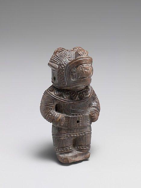 Flute Tairona People Gayraca Style Pre Columbian Flute Mayan Art Musical Instruments