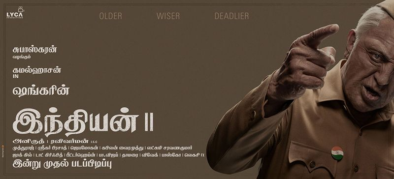 Indian 2 Shooting In Process