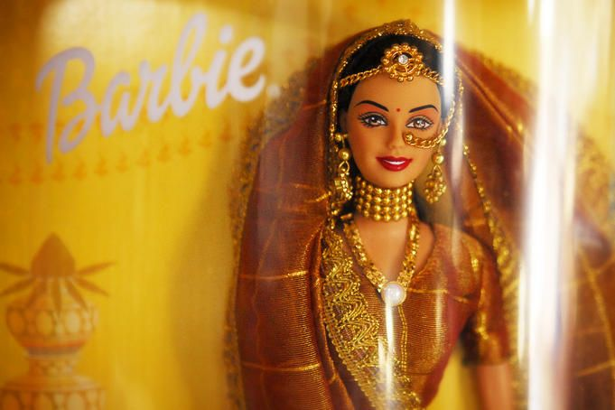 Indian Barbie doll  Detail of Indian Barbie doll.  Lonely Planet Media    Felix Hug Lonely Planet Photographer    © Copyright Lonely Planet Images 2011