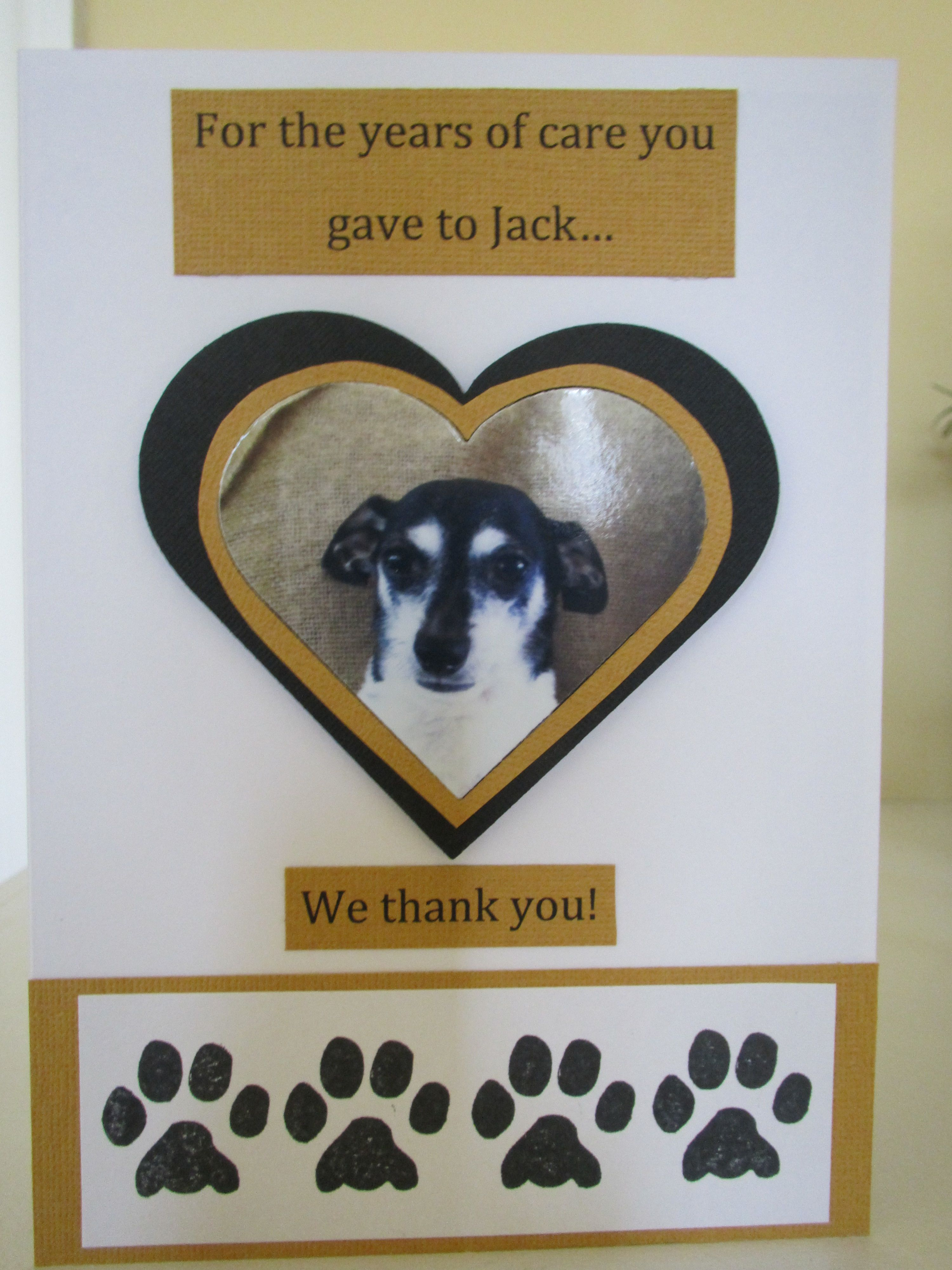 Thank You Card To Our Veterinarians Themed Cards Thank You Cards Gifts For Veterinarians